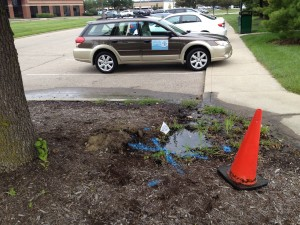 Leak Detection at Sharonville, OH Hotel