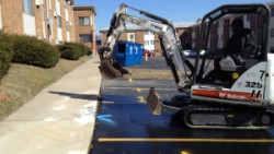Cincinnati, Ohio slab leak detection