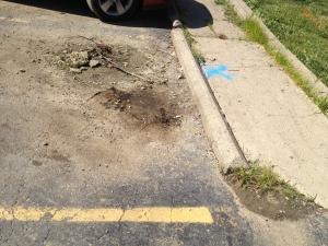 Water Pipe Leak in Cincinnati, Ohio