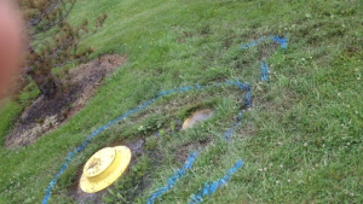 Kenton County Parks Underground water leak