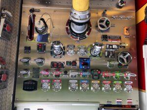 Fire Department Pumper Truck Control Panel